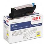 Okidata Printers: Yellow Image Drum Okidata C3400n (Yld 15k)